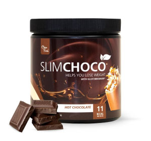 Preparado lowcarb para chocolate caliente Slim Choco Clean Foods en Outletsalud