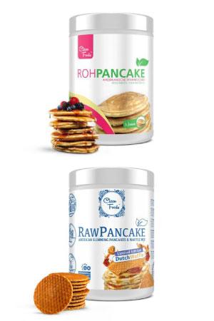 Preparado lowcarb para tortitas Raw Pancake Clean Foods en Outletsalud