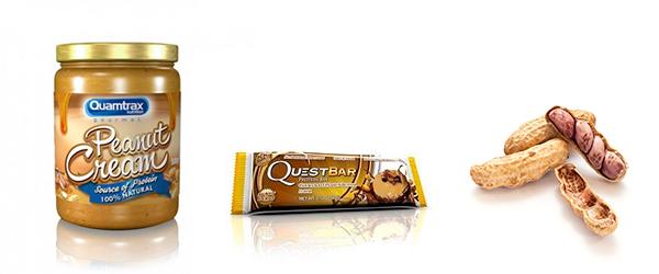 Productos bajos en carbohidratos con cacahuetes en Outletsalud