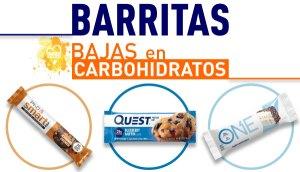 Barritas bajas en carbohidratos en Outletsalud