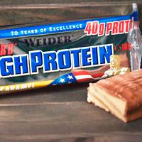 Barritas bajas en hidratos de carbono High Protein Weider en Outletsalud
