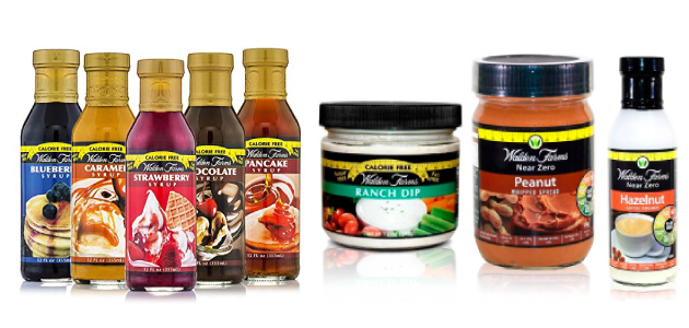 Salsas y Siropes 0 sin carbohidratos Walden Farms en OutletSalud