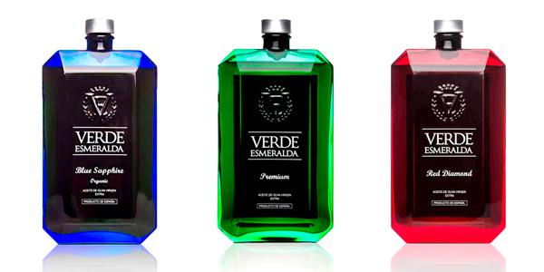 AOVE Verde Esmeralda Premium, Blue Sapphire y Red Diamond