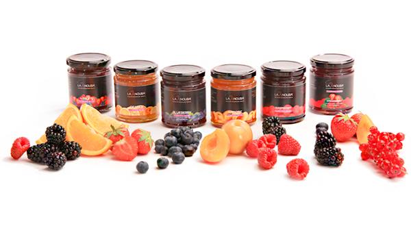 Mermeladas de frutas lowcarb y sin azúcares añadidos LaNouba en OutletSalud