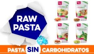 Pasta sin carbohidratos RawPasta en OutletSalud