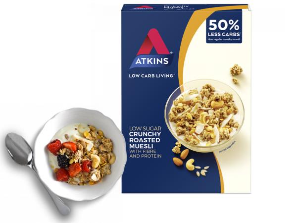 Cereales bajos en carbohidratos Atkins en OutletSalud