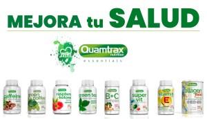 Productos Quamtrax Essentials para mejorar tu Salud