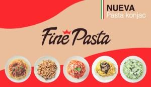 Nueva pasta konjac