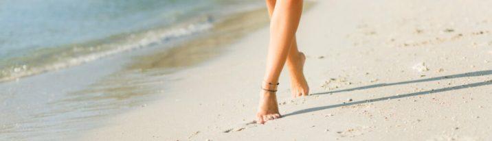 Luce unos pies bonitos todo el verano