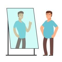 Distorsión de la imagen corporal debido a la megarexia