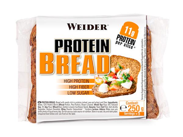 Panes proteicos de molde lowcarb Weider