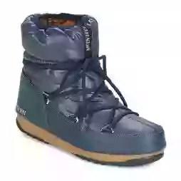 Scarpe da neve donna Moon Boot  LOW NYLON WP  Blu Moon Boot 8050459494426