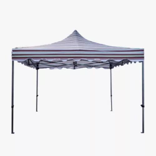 ... Pop Up Tent. ?. $131.47 & Stripped 10×10 Canopy Pop Up Tent | Outlet Tags Canopies Canada ...