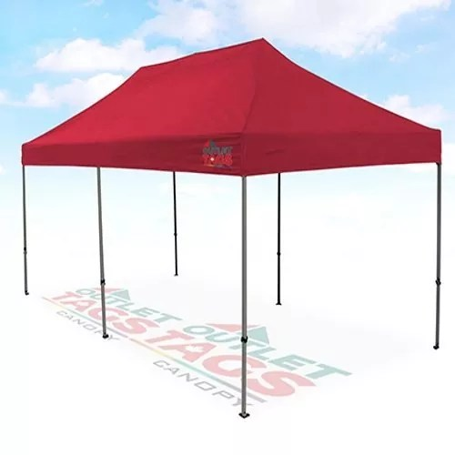 10x20 Red Canopy