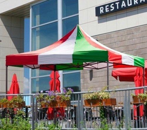 10x10 Iron Horse Multi-colour top Canopy