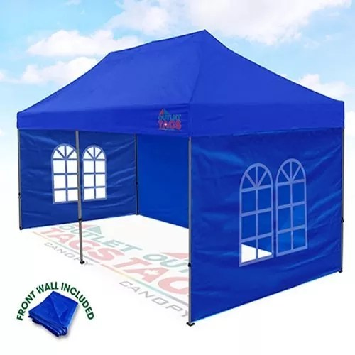 10x20 Blue Canopy with Walls