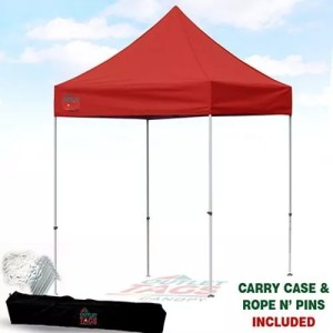 8x8 Red Iron Horse Canopy