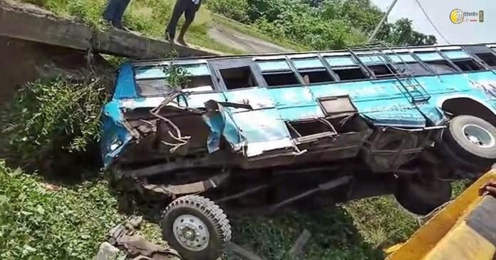 bus accident birbhum