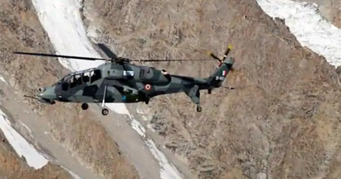 2 Light Combat Helicopters deployed in Leh