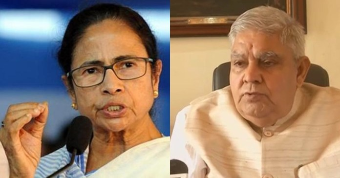 The Governor of West Bengal has tweeted to Chief Minister Mamata Banerjee about administrative neutrality