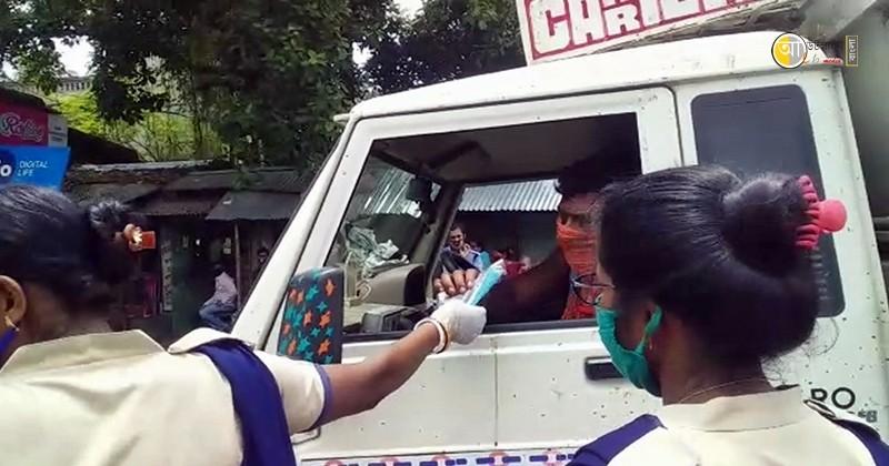 birbhum police raksha bandhan program 2