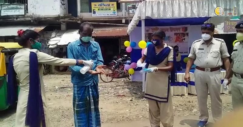 birbhum police raksha bandhan program 4