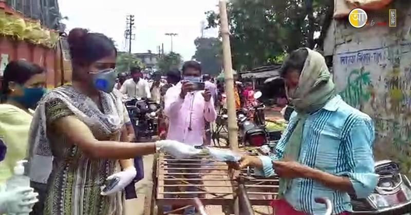 birbhum police raksha bandhan program 9