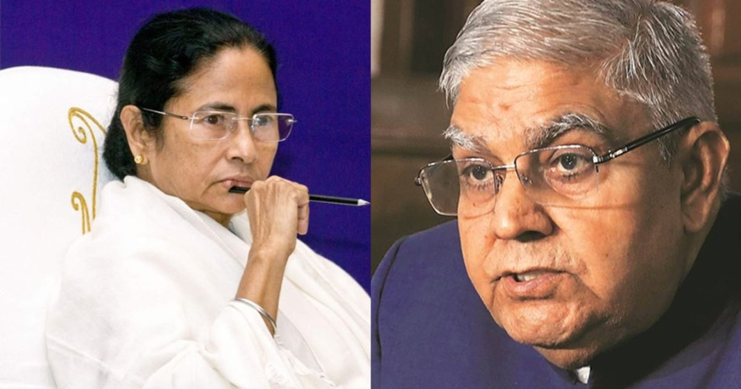 governor jagdeep dhankhar wrote a letter to the chief minister