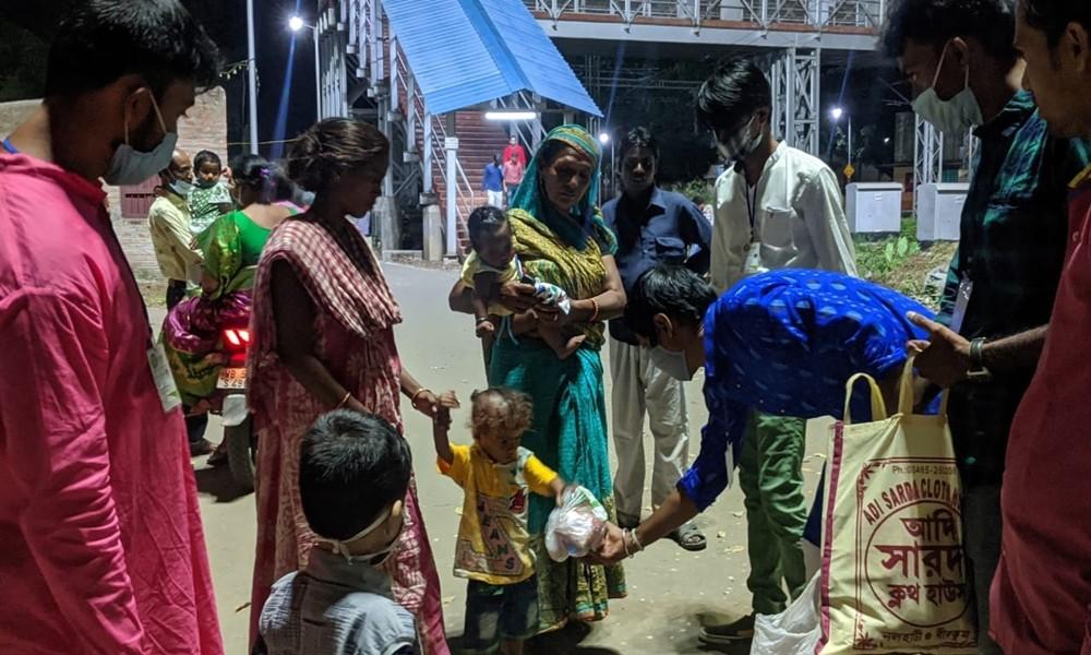 prochesta social cloth and food distribution