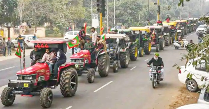 Farmers protests Police give nod for tractor parades in Delhi on Republic Day