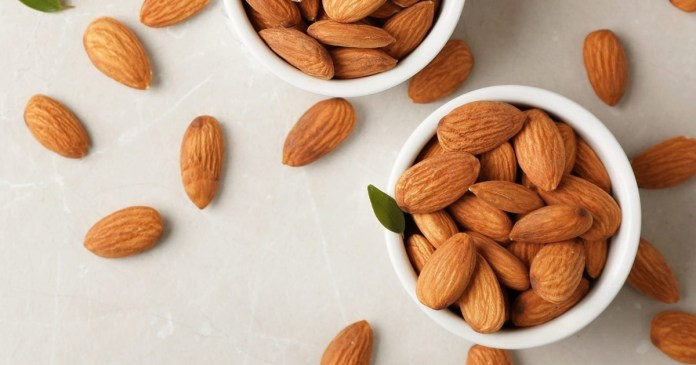 eat almonds daily there will be no impression of age on your face