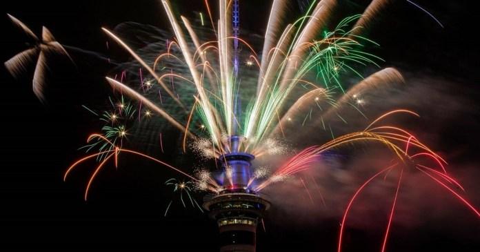 new year welcome new zealand-australia