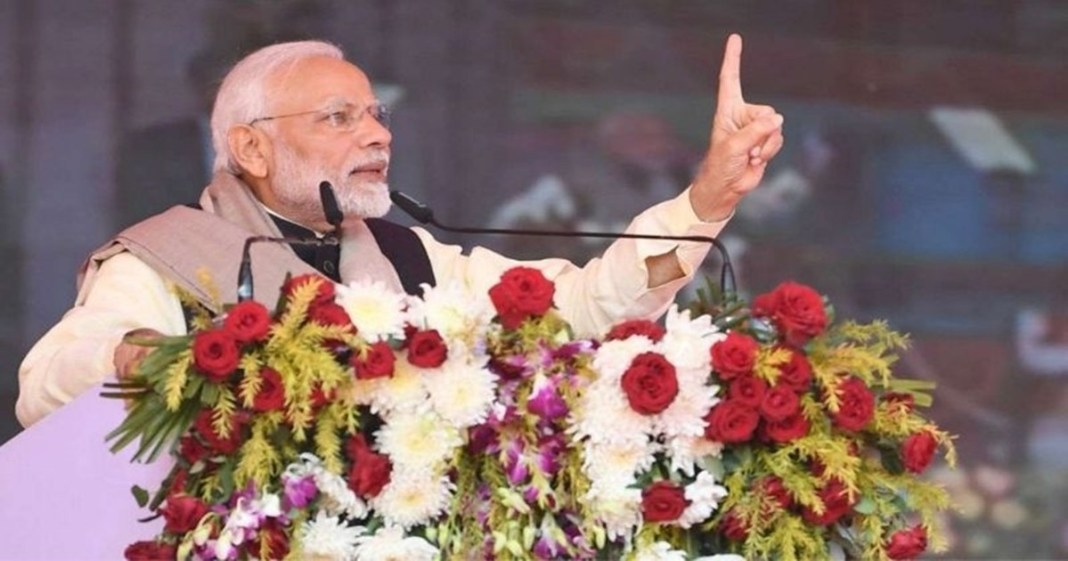 Modi will hold a public meeting in the brigade on March 7 to increase public relations before the election