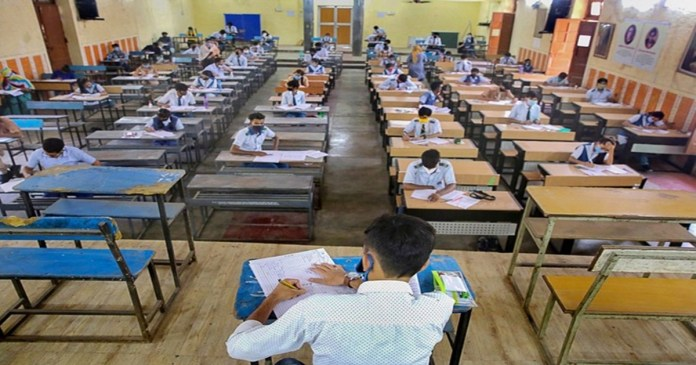 schools reopen in west bengal after 11 months for classes 9-12