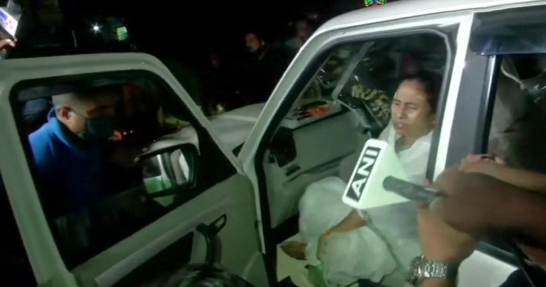 Mamata Banerjee Suffered Injury