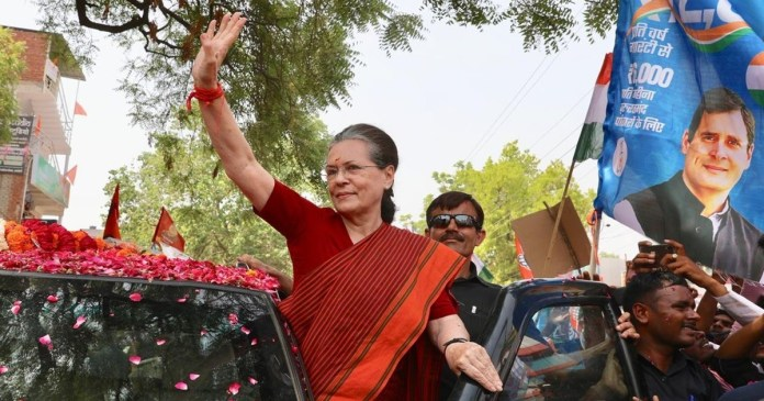 Sonia Gandhi wants to campaign in Bengal before the Assembly elections