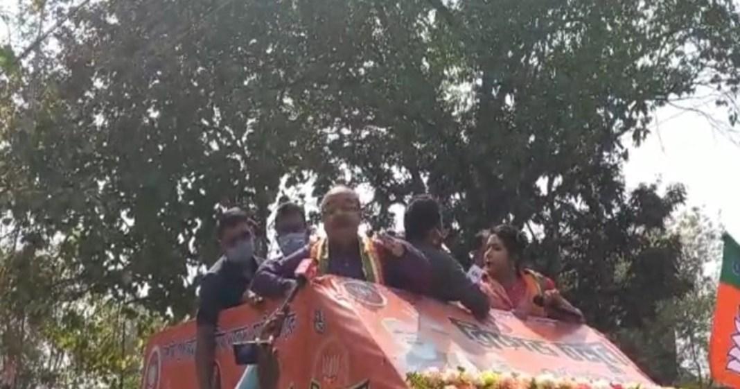 Sovan Chatterjee attacks Anubrato Mondal at rampurhat