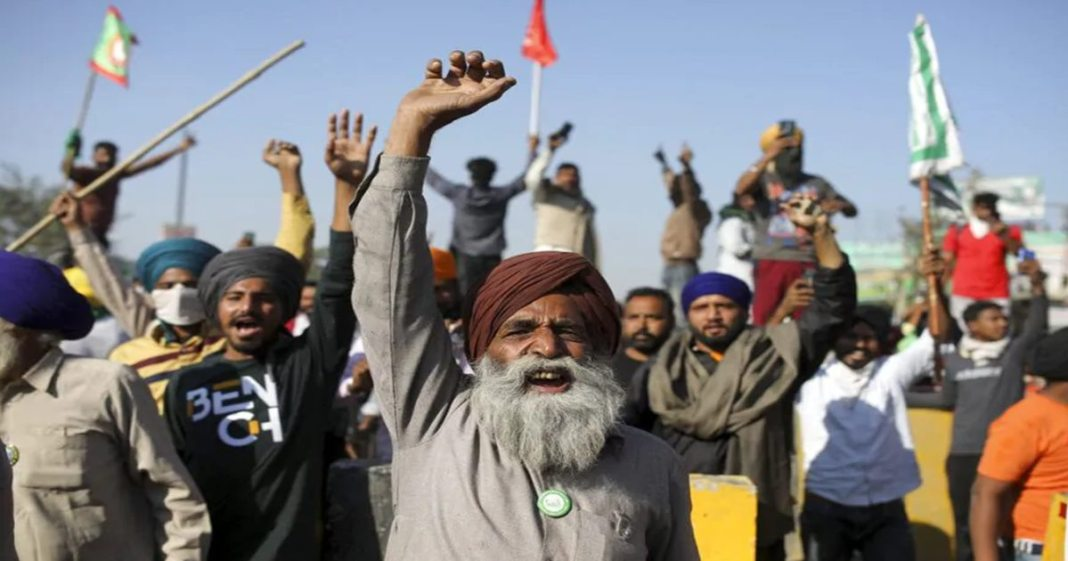 Farmers to march on foot to Parliament in May