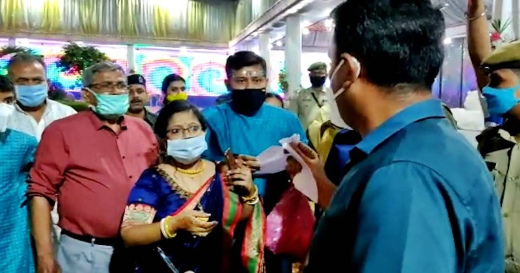 tripura wedding controversy district magistrate resign for neutral investigation