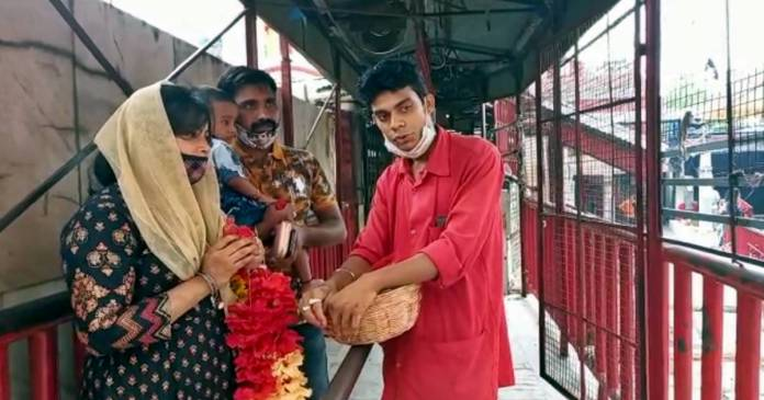 Tarapith temple opened with the Corona rules, special rules issued for the benefactors