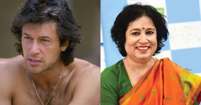 Taslima Nasreen reply to Imran Khan's sexist remarks
