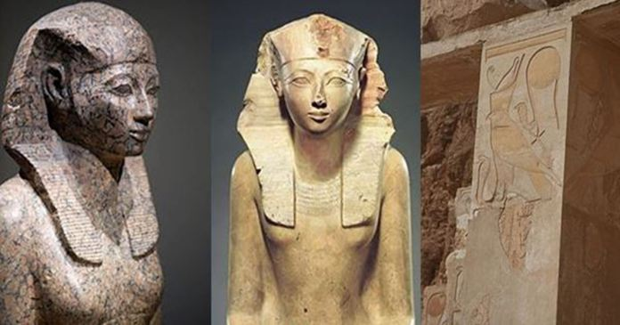 Hatshepsut ruled Egypt in the guise of a man