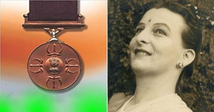 contribution of a Swiss woman is behind Parambir Chakra