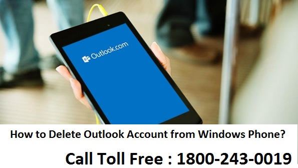 How to Delete Outlook Account from Windows Phone