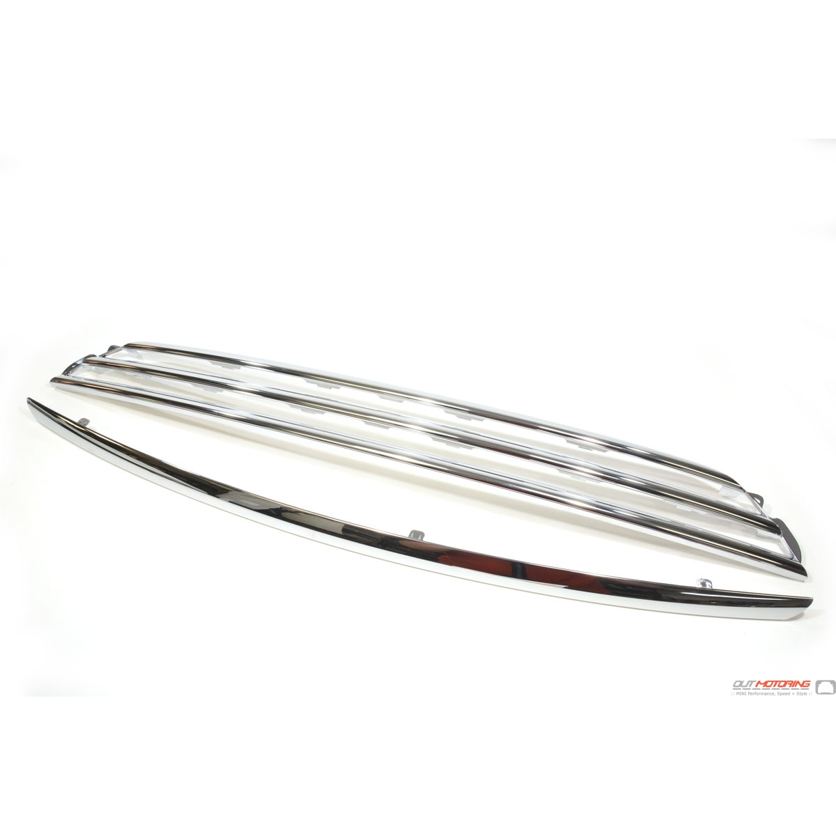 Mini Cooper S Chrome Grill Kit Conversion
