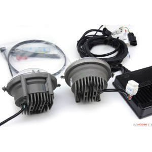 MINI Cooper Factory OEM LED Halo Running Front Driving Light Kit:  MINI Cooper Accessories