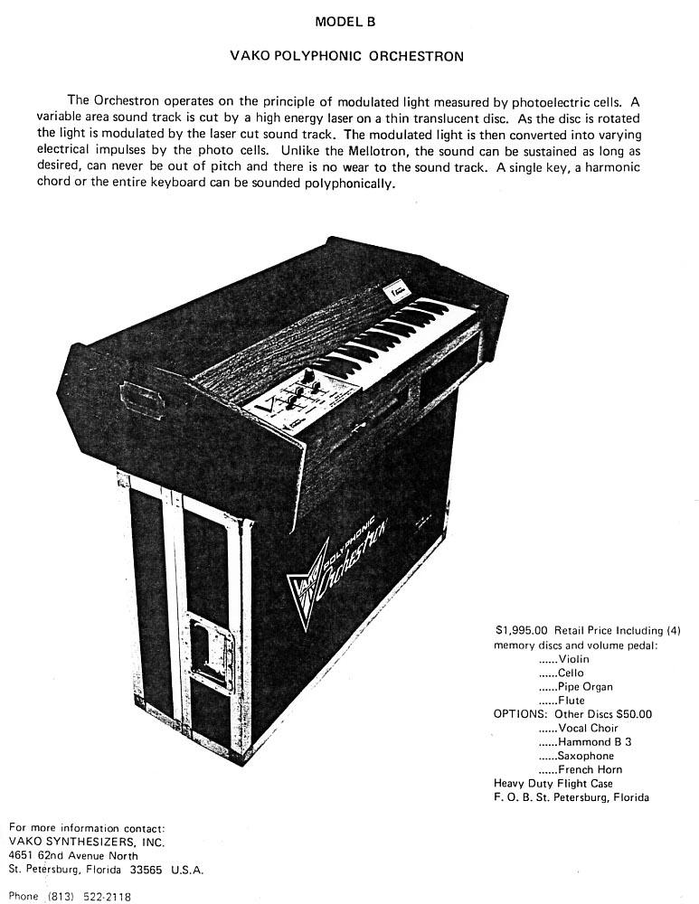 Orchestron Brochure