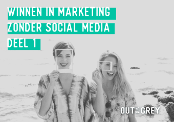 Winnen in marketing zonder social media – deel 1