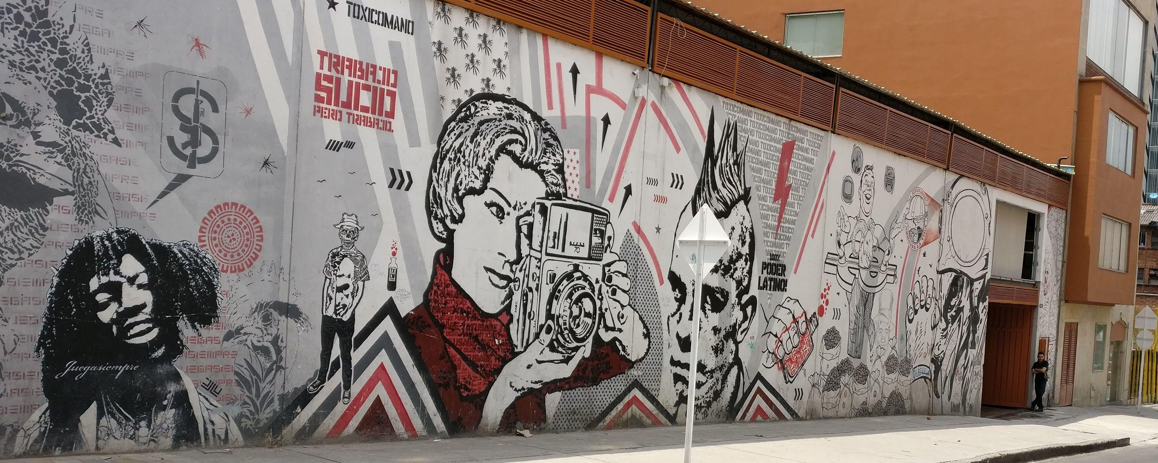 Bogata Street Art