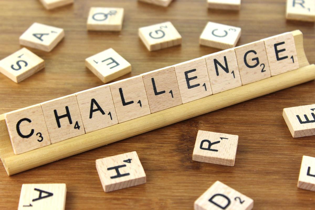 Challege Scrabble Tiles